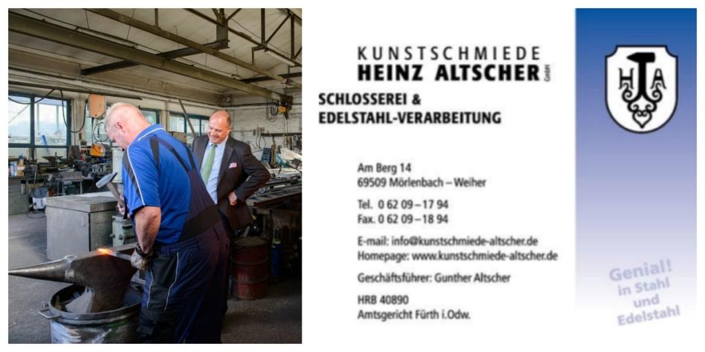 Kunstschmiede Heinz Altscher