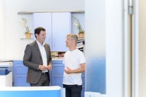 Steuerberater Michael Radtke bei der Beratung von Beteiligten an Personengesellschaften